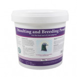 Nuevo Pigeon Moulting and Breeding powder 700 gr, (suplemento para cría y muda)
