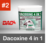 dacoxine 4 en 1 para palomas